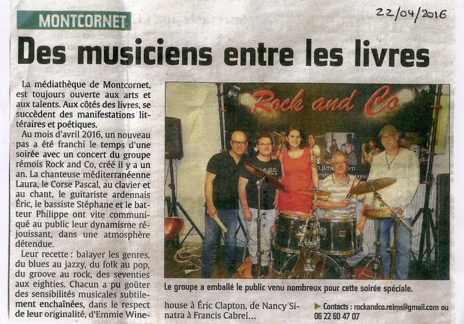 """journal """"L'union"""" du 22 04 2016"""