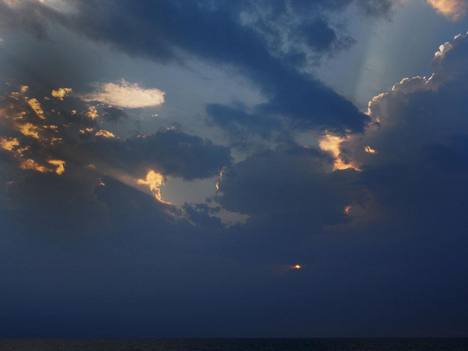Sunset, Hossegor 2013