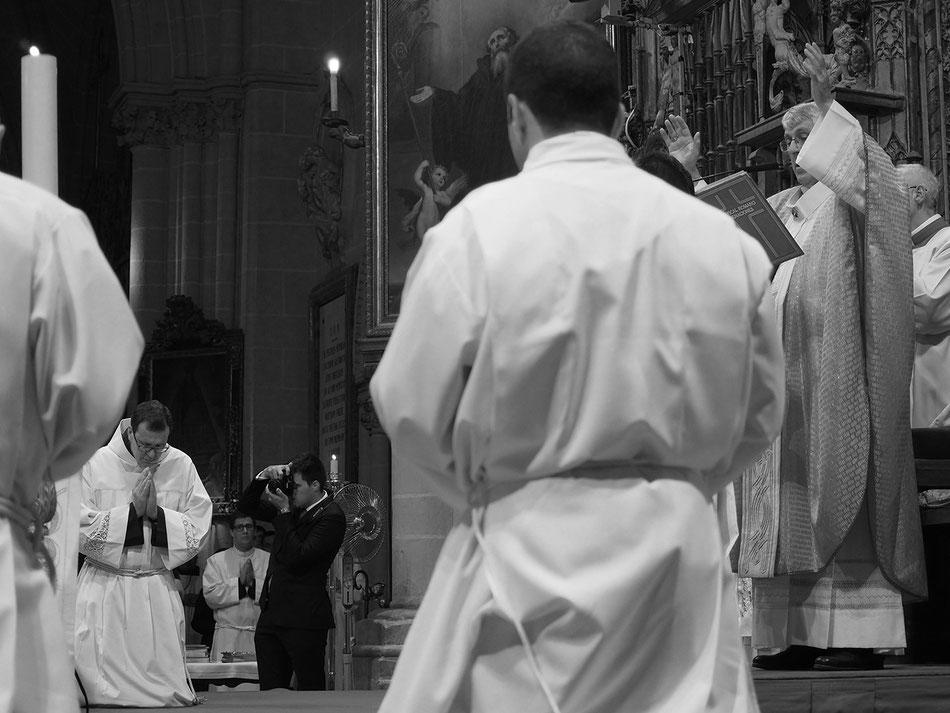 Ordenación Javier, Catedral de Toledo 2 de julio 2017