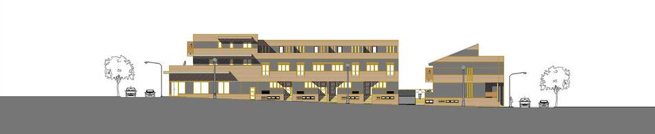 Alzado_Composición de fachadas