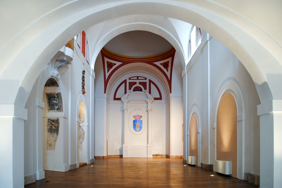Interior del Convento de Trinitarios_Después de la intervención