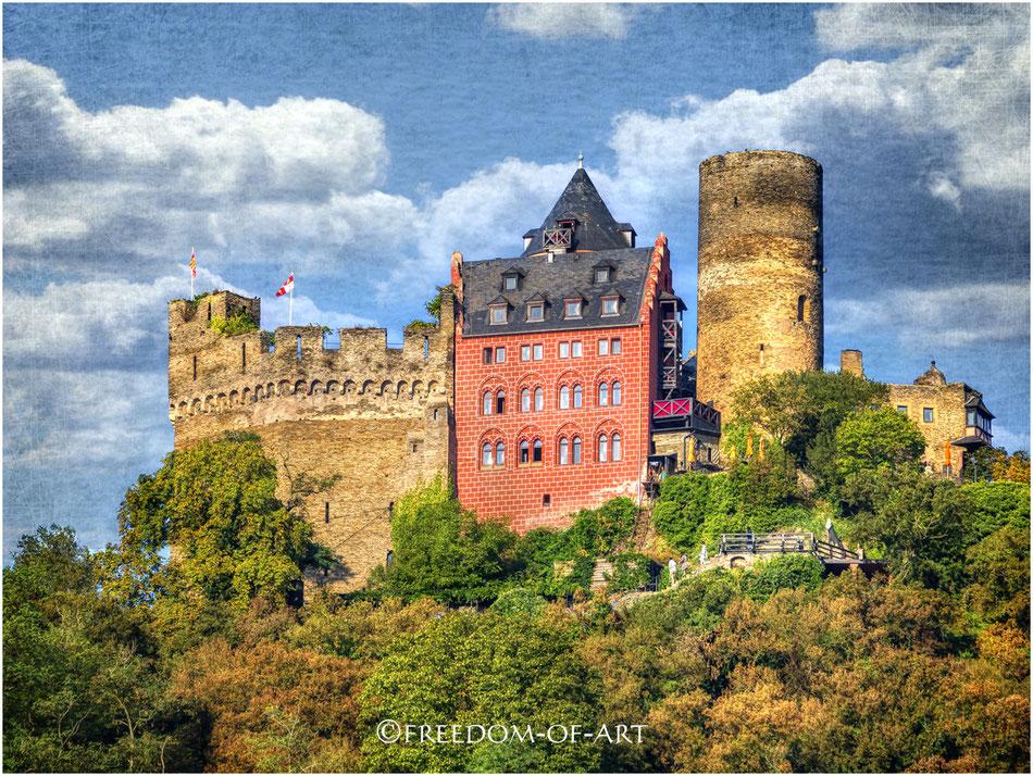 Schönburg aus dem 12. Jahrhundert