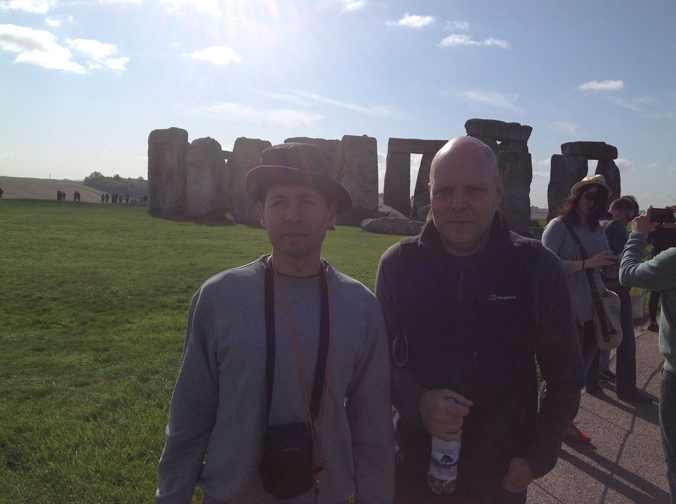 At Stonehenge, in UK - 2012