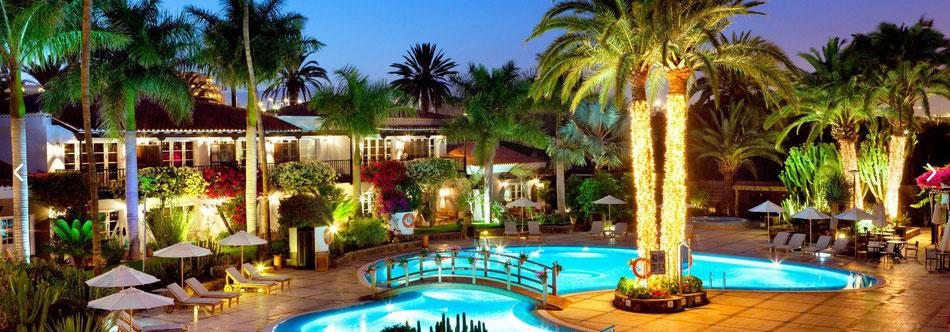 "Beliebtes Luxushotel auf Gran Canaria das ""Seaside Grand Hotel Residencia"" (c) Foto Seaside Hotels GmbH & Co. KG - Hamburg/Germany"