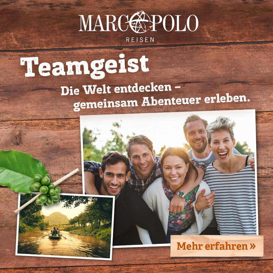 Marco Polo Rundreisen & Studienreisen mit Marco Polo young Line für junge Leute Italien, Spanien, Malta, Karibik, Asien und Südamerika