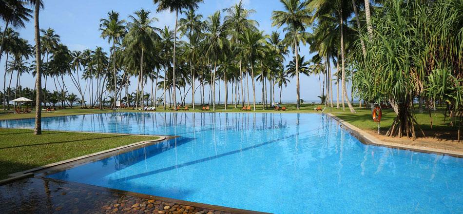 Urlaub Hotel Blue Water Sri Lanka Rundreise mit Badeaufenthalt günstige Sri Lanka Reisen bei Reiselotsen buchen