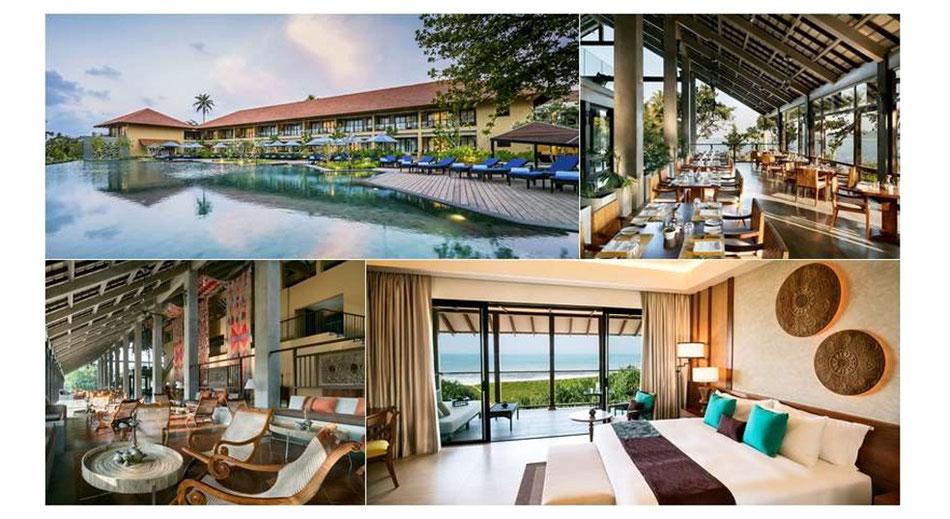 Sri Lanka Luxusurlaub hier günstig beim Sri Lanka Spezialisten Reiselotsen cruise & tours buchen, z.B. 5-Sterne Beach-Resort Anantara Kalutara Resort mit Halbpension und Flug