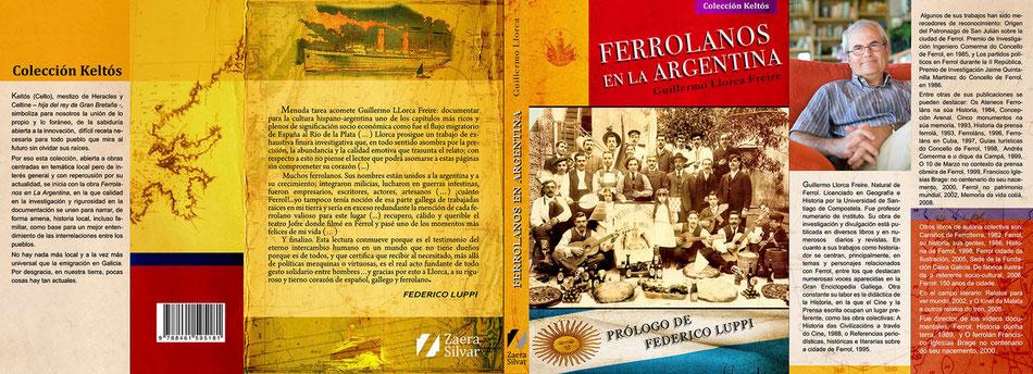 """""""Ferrolanos en la Argentina"""" de Guillermo Llorca."""