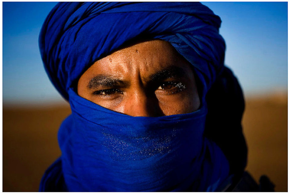 Tuareg. Sahara desert.