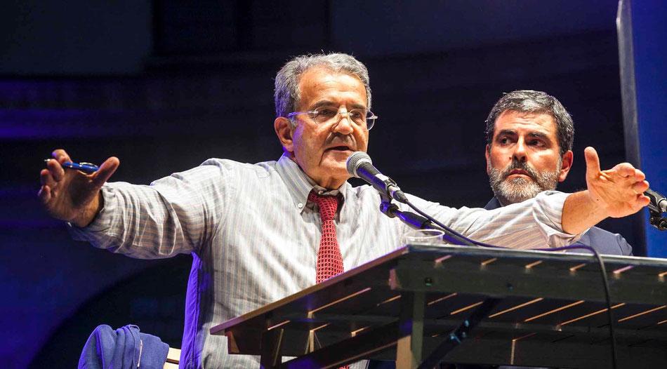 Romano Prodi. Festival della Letteratura di Mantova, 2015.