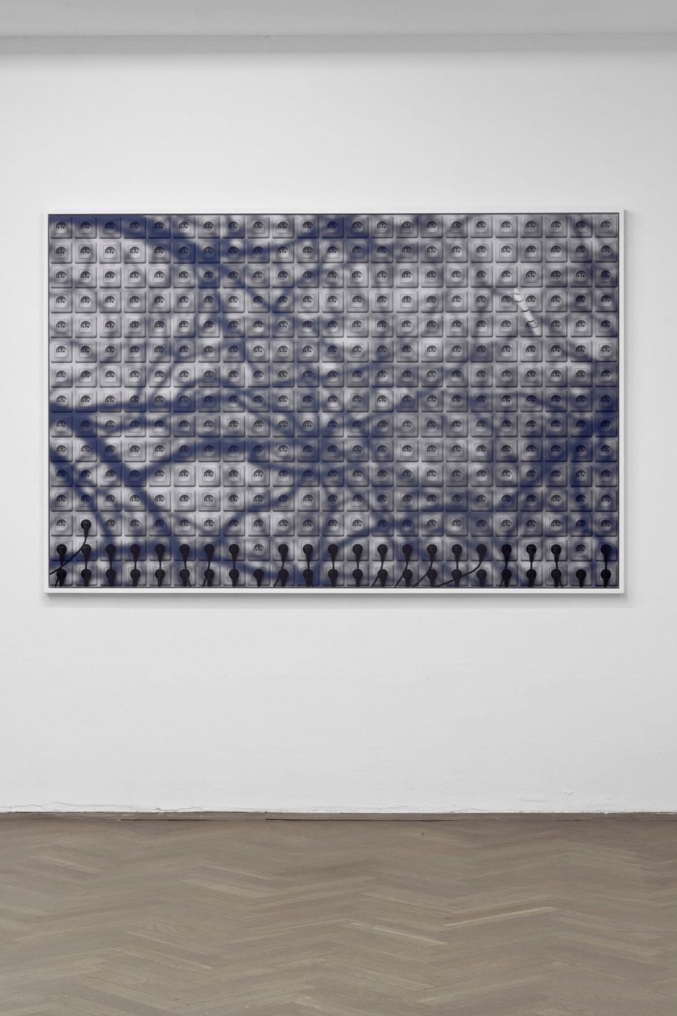 Unplanned images | Obrazy nieplanowane, 2014, Diasec, frame, 200x130 cm