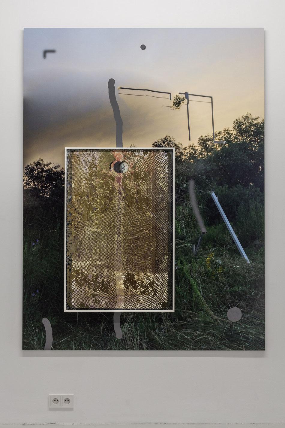 Reflex Wander #06, 2016, Dibond, Epson on Canson, anti-reflective glass, 150x200 cm + 69x100 cm