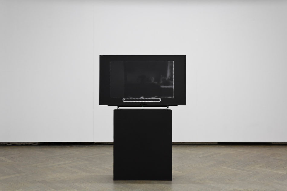 Onetime 2, 2014, HDV, video animation, particular TV set, no sound, 4'43""
