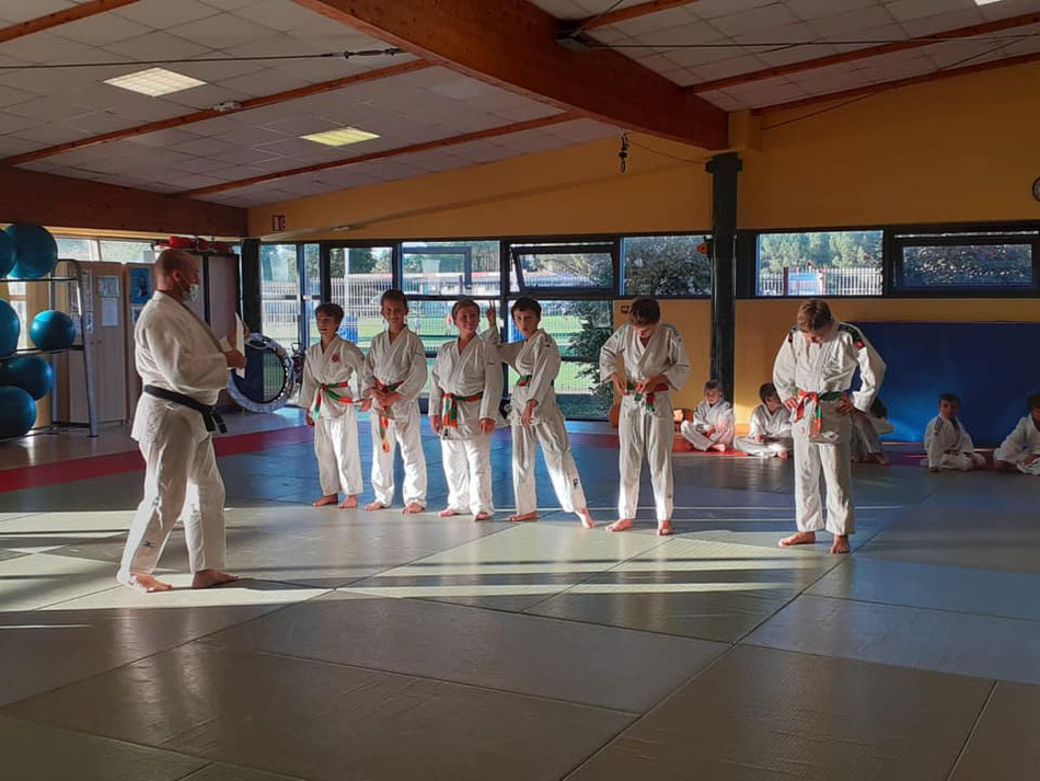Crédit photo: Judo Club Val de l'Eyre