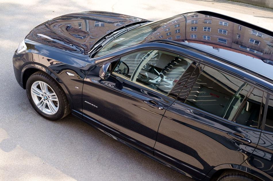 BMW X5 gewaschen und poliert