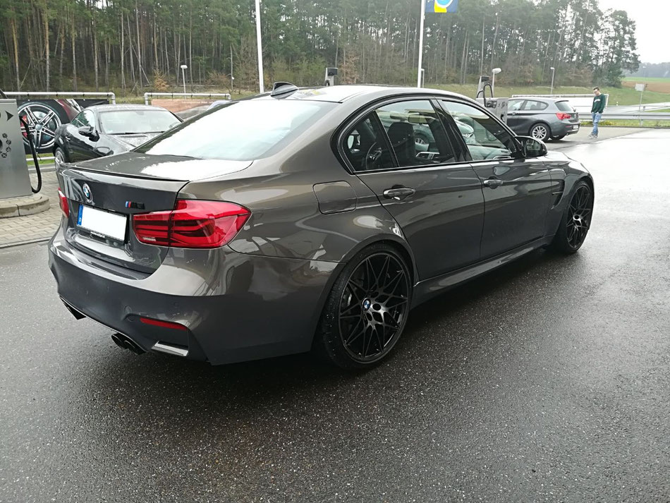BMW M3 Heckansicht
