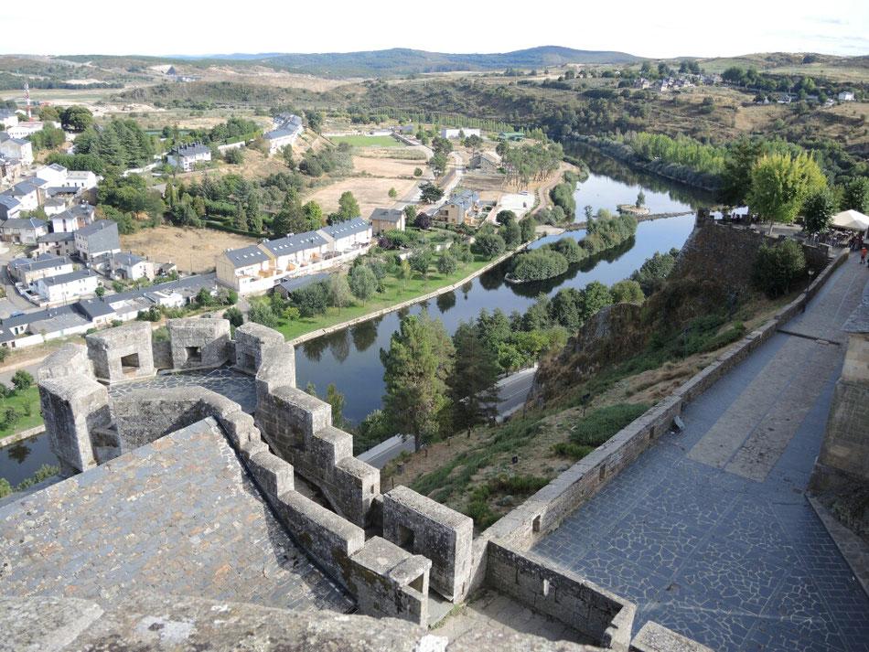 Noch ein Blick aus dem Burg