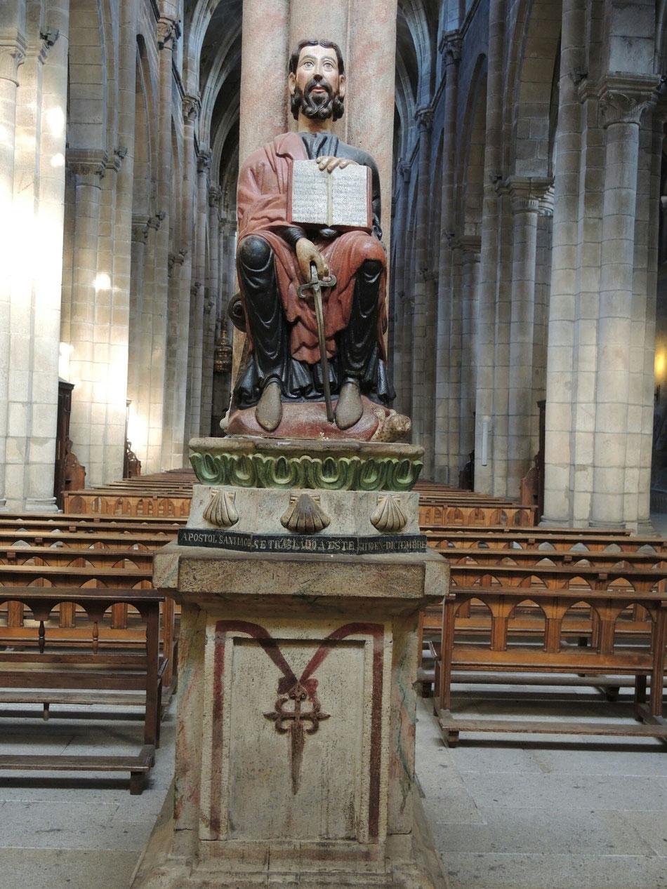 Die Statue von heiliger Jakobus