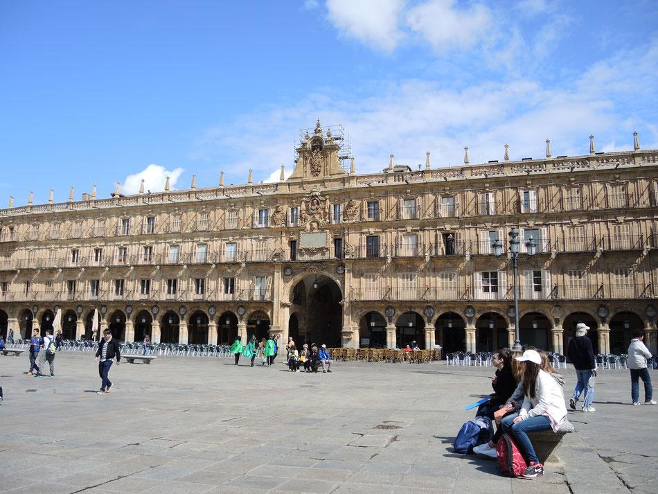 Über ein Jahr später versuche den abgebrochener Weg von Salamanca weiter zu gehen. Es bleiben noch rund 500 km.