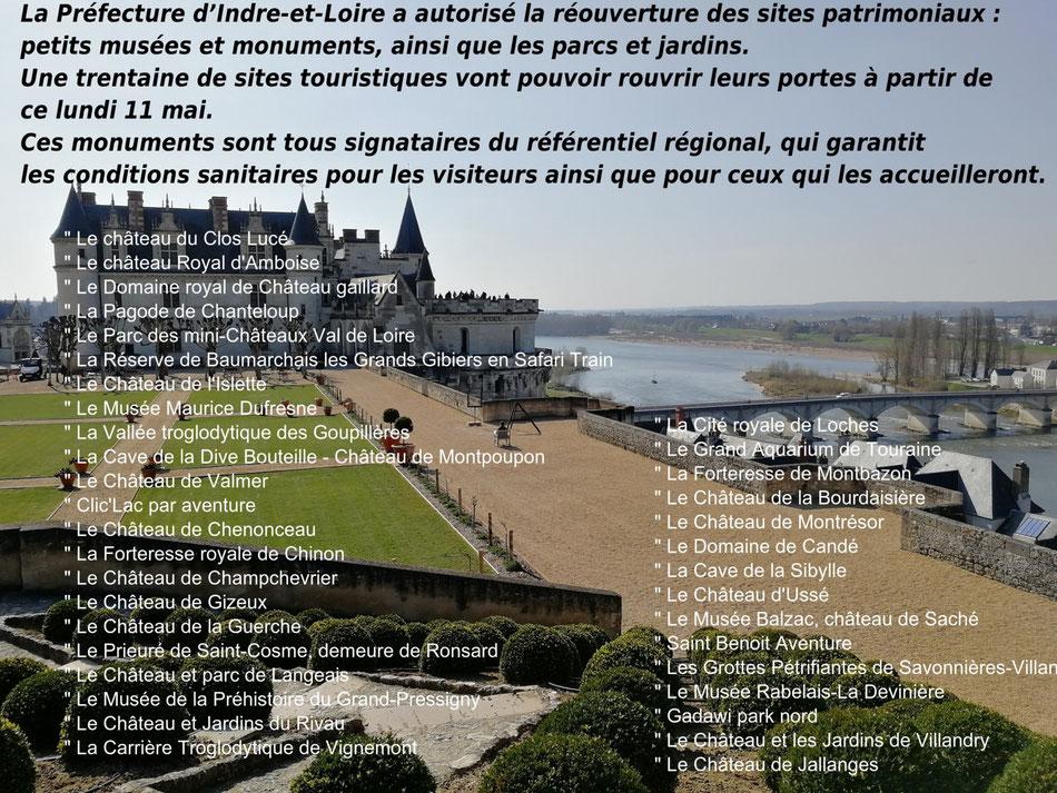 Un gite déconfinement chateaux de la Loire