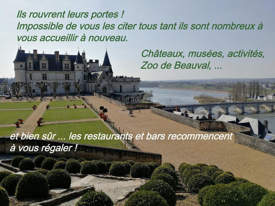 Les Chateaux de la Loire rouvrent leurs portes