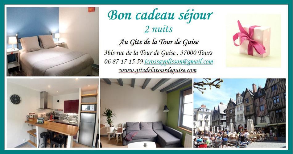 BON CADEAU SEJOUR TOURAINE VAL DE LOIRE