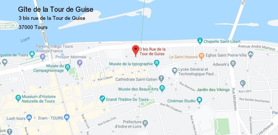 Gite Tours - Centre ville