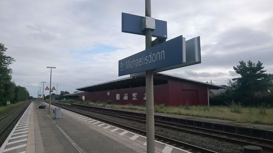 Bahnstation im Wilden Westen.