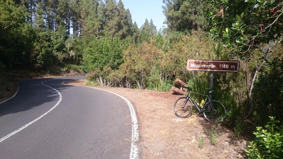 Rennrad, Teneriffa, Teide
