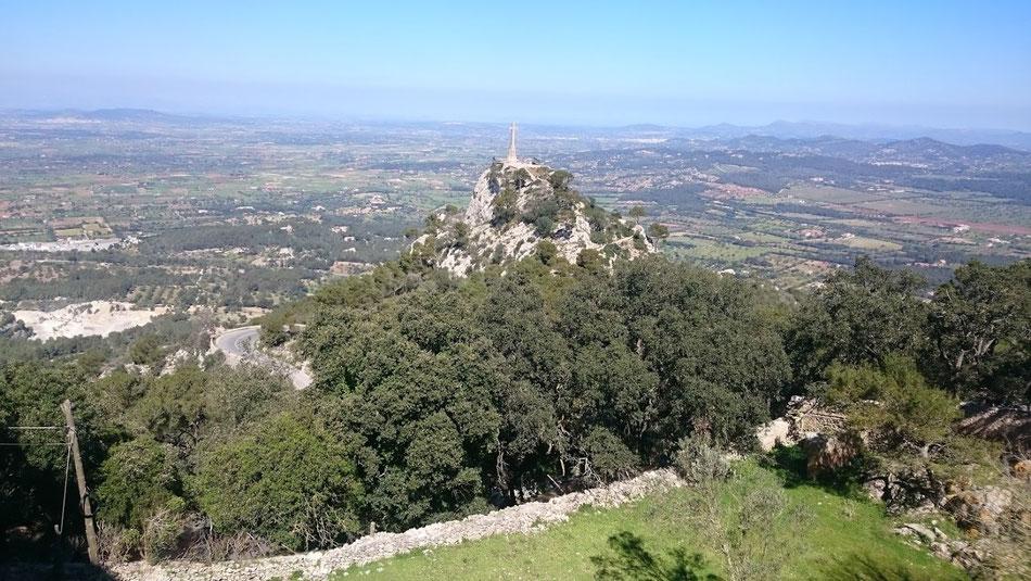Mallorca, schon wieder von oben.