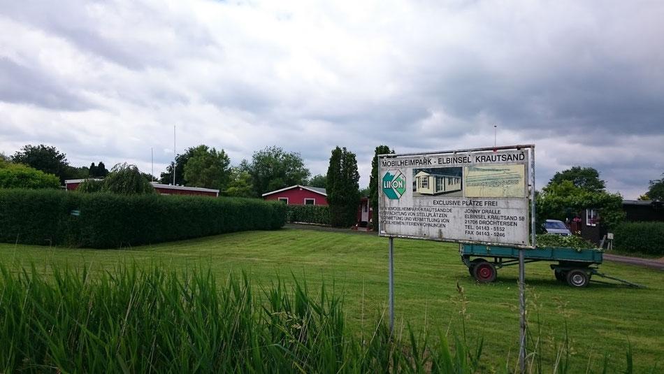 Trailerpark in Niedersachsen.