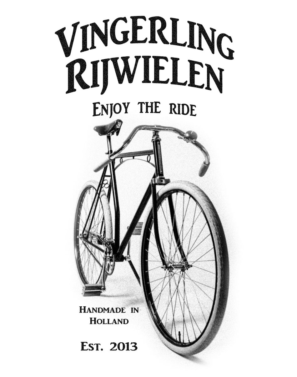 antique bicycles handmade in holland.