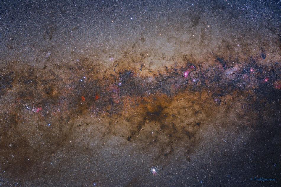 Núcleo de La Vía Láctea