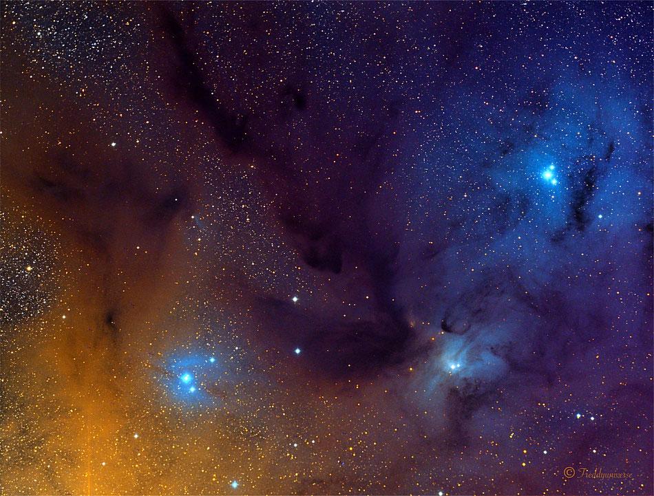 Complejo de Nebulosas en Rho Ophiuchi