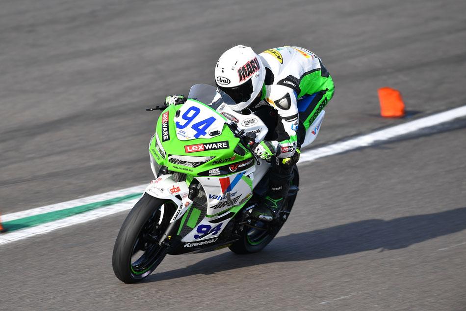 Marvin Siebdrath beim IDM Rennen am Lausitzring