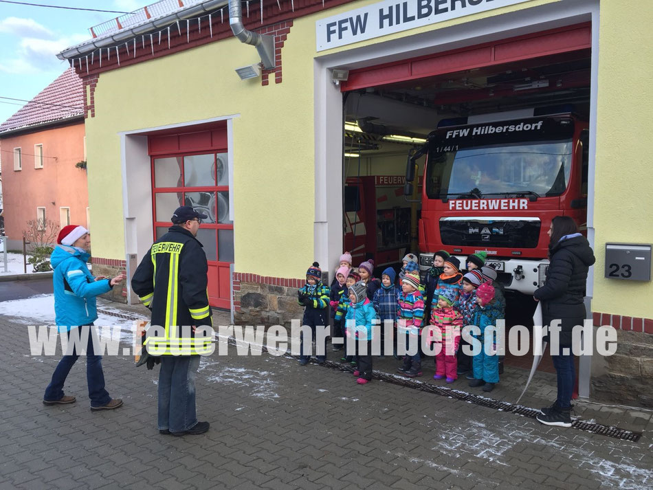Weihnachtsgrüße An Erzieherinnen.Akuelles Die Freiwillige Feuerwehr Hilbersdorf Bei Freiberg