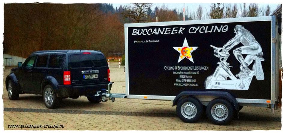 Buccaneer Cycling - Nitro & Tim Hänger