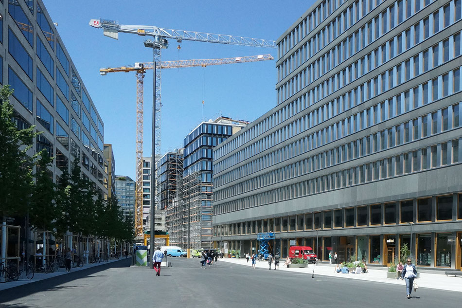 Generalplaner Credit Suisse Zuerich Europaallee