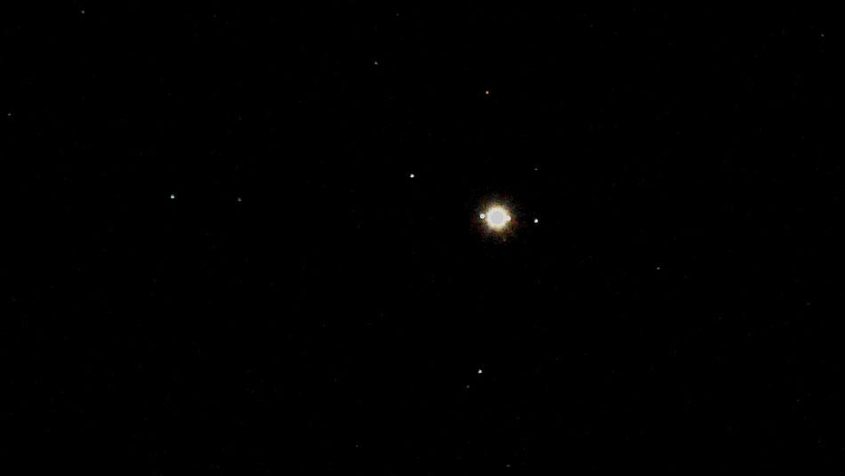 Sterne, Mond,