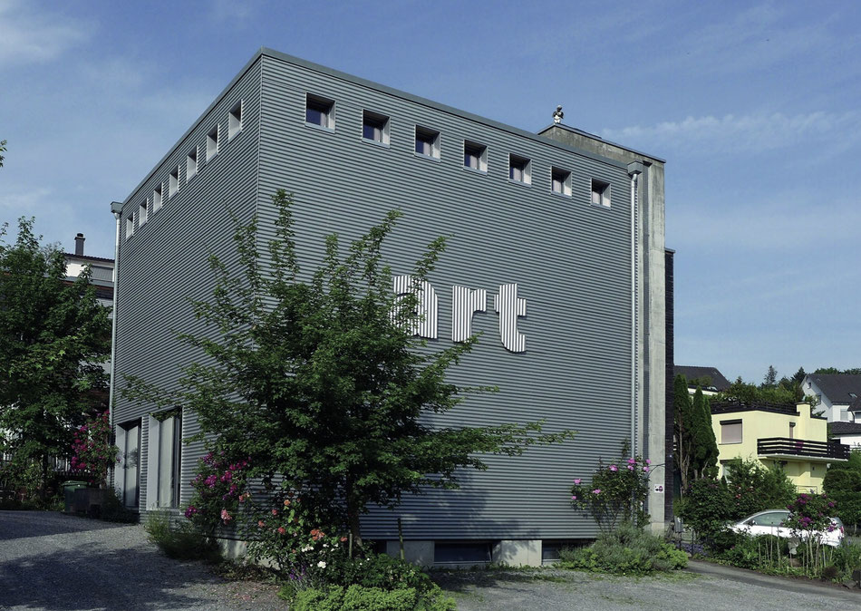 Die Kunstschule Wetzikon. Druckatelier im obersten Stock.