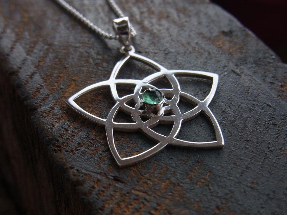 Symbol der heiligen Geometrie Venusblume