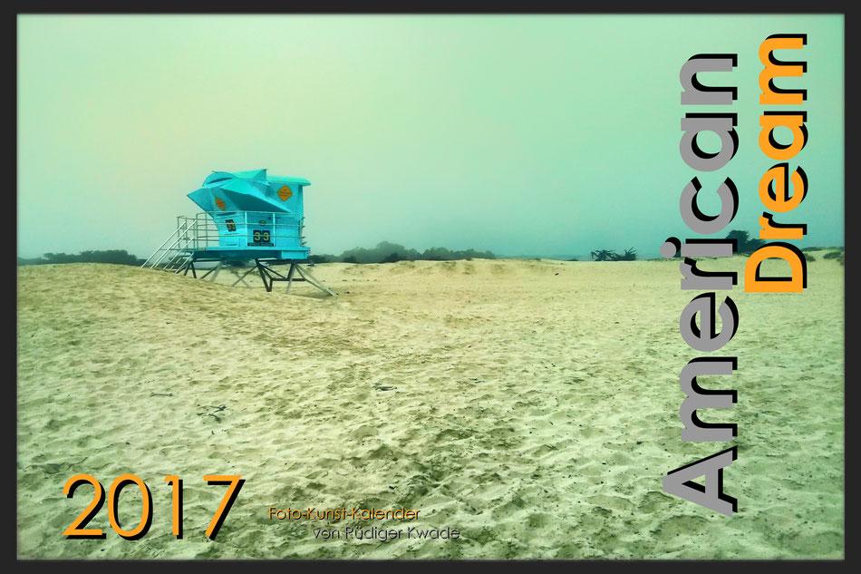 · foto-kunst-kalender 2017 · American Dream  · Deckblatt · yak © 2016 RK