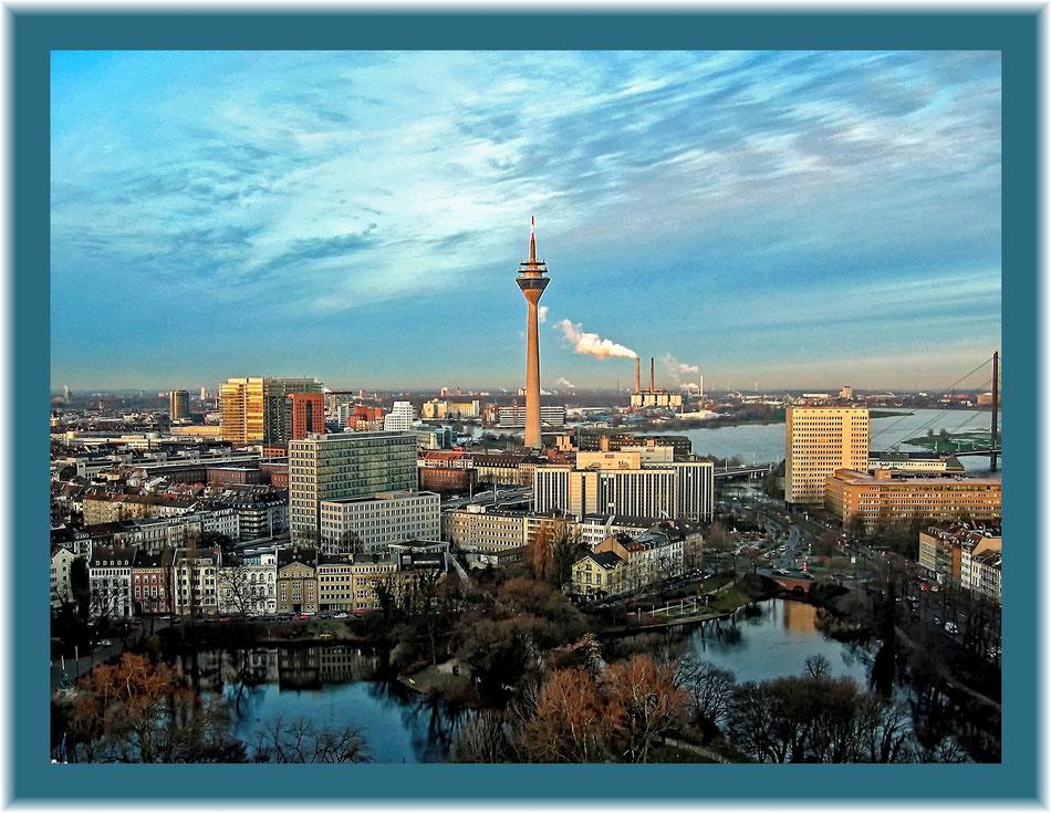 Kalenderblatt Januar 2015 Düsseldorf