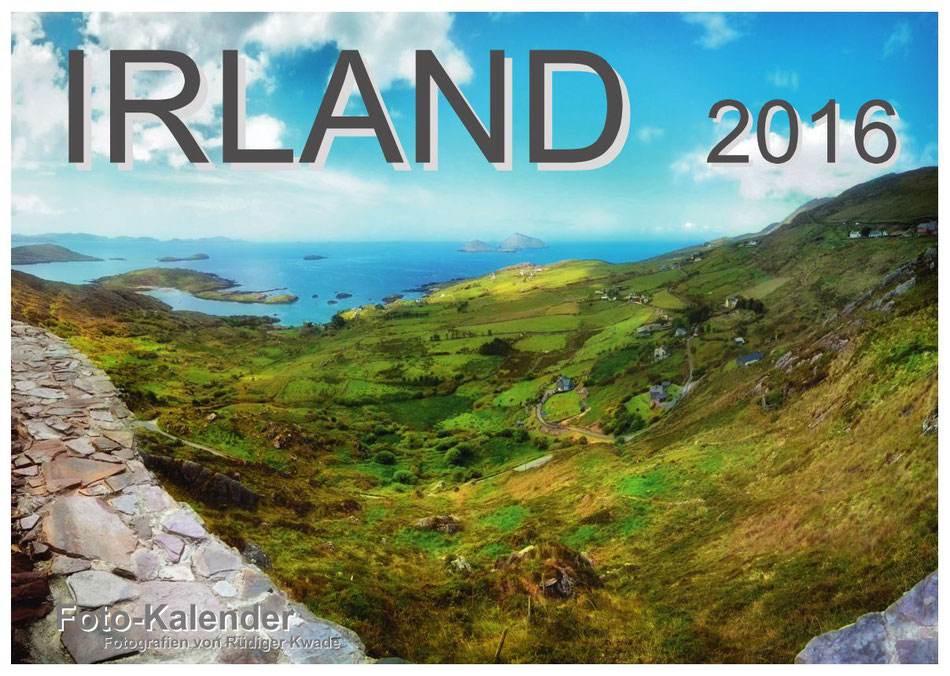 · foto-kunst-kalender 2016 · Irland · Deckblatt · yak © 2059 RK