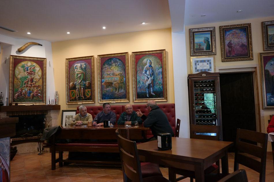 Stammtisch in Galerie-Kneipe