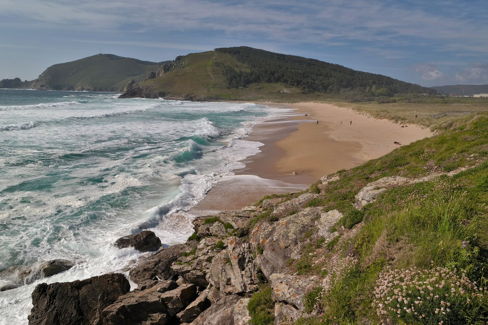 Praia Mar de Fora in Finisterre