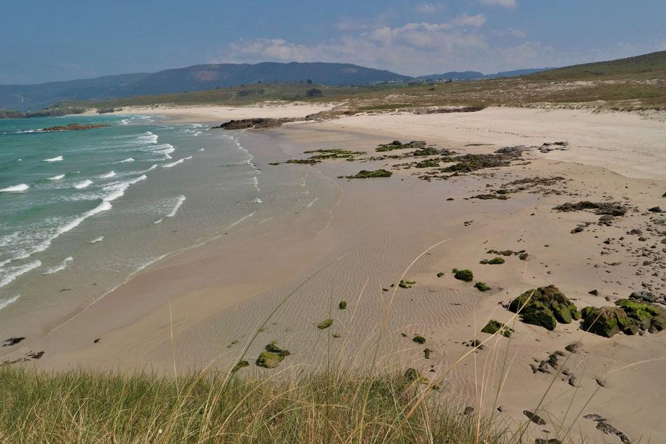 Ein einsamer Strand bei Cabo Prior