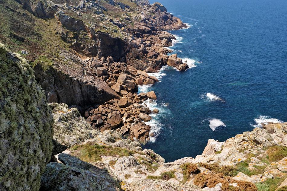 Felsenküste bei Cabo Prior