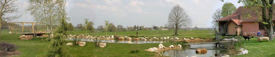 Garten Mitte - April 2010