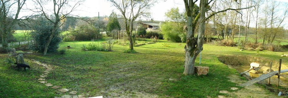 Garten Maison Libellule - November 2008